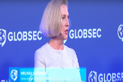 Melissa Hathaway Speaks at GLOBSEC 2018: Facing Cyber Futures