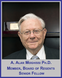 A. Alan Moghissi, PhD</p>Senior Fellow</p>Member, Board of Regents