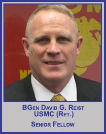 BGen David G. Reist, USMC (Ret.)</p>Vice President</p>Strategy and Planning