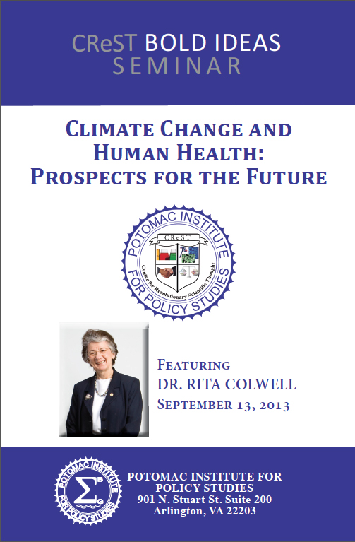 CReST Bold Ideas Seminar: Climate Change and Human Health - Prospects for the Future