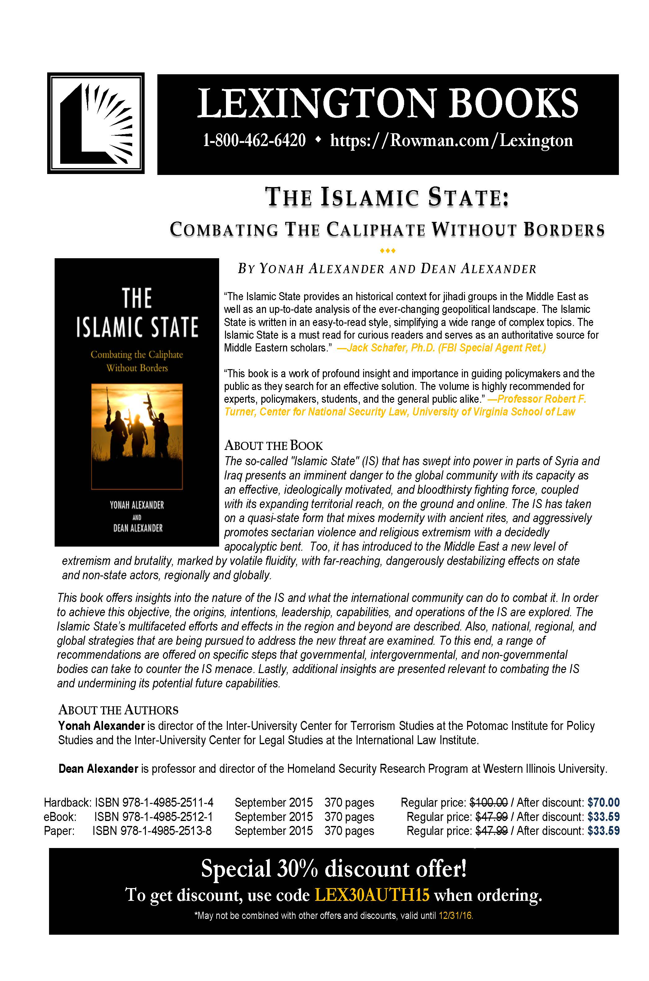 IslamicStateFlyer Page 1
