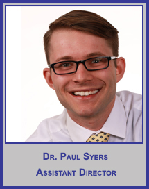 Dr. Paul Syers</p>Research Associate</p>CReST Fellow