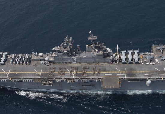 Commanders of the 26th Marine Expeditionary Unit/ Kearsarge Amphibious Ready Group