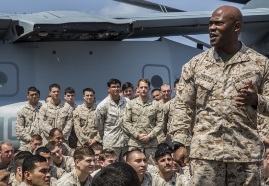 13th Marine Expeditionary Unit and Boxer Amphibious Ready Group Post Deployment Brief