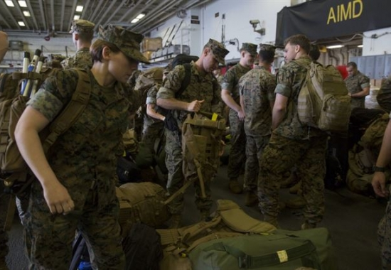 31st Marine Expeditionary Unit/Bonhomme Richard Amphibious Ready Group  Post Deployment Brief