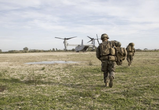 CAI hosted the Special Purpose Marine Air Ground Task Force – Crisis Response – Africa (SPMAGTF – CR – AF) Rotation 16.1