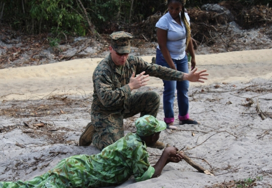 Operations Officer of the Special Purpose Marine Air Ground Task Force-Crisis Response-Africa