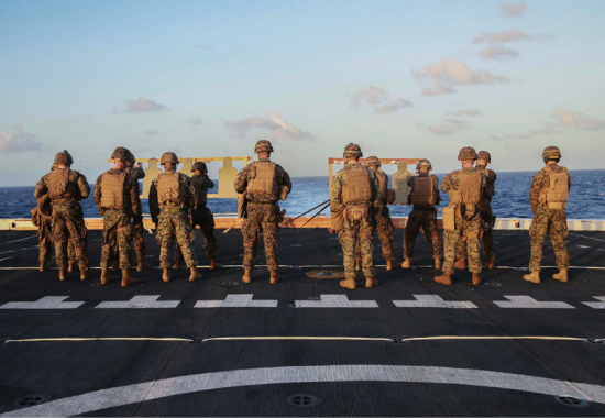 Commander of the Essex Amphibious Ready Group and 15th Marine Expeditionary Unit