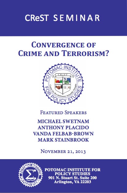 CReST Seminar: Convergence of Crime and Terrorism?