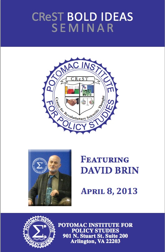 CReST Bold Ideas Seminar: Featuring David Brin